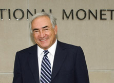 Strauss-Kahn Named to Head IMF